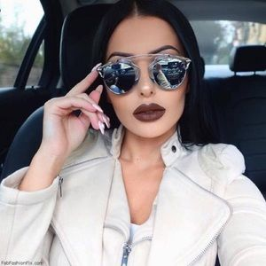 CHRISTIAN DIOR - So Real Mirrored Sunglasses, 48mm
